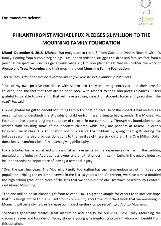 Optimized-Philanthropist Michael Fux Pledges - official press release cut_Page_1